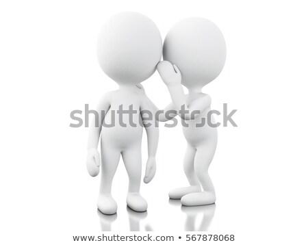 3 ª persona secreto 3D ilustración Foto stock © ribah