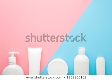 Sécher texte lotion main personnes Photo stock © AndreyPopov
