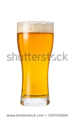 Beer Weizen Pint Glass Stock photo © albund