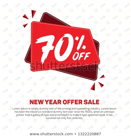 Black Friday Big Sale 70 Percent Off Price Poster Stock photo © robuart