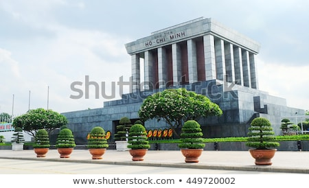 Ho Chi Minh Mausoleum in Hanoi, Vietnam Stock photo © bloodua