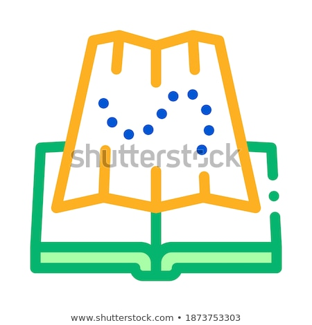 integrated geography icon vector outline illustration Stock photo © pikepicture