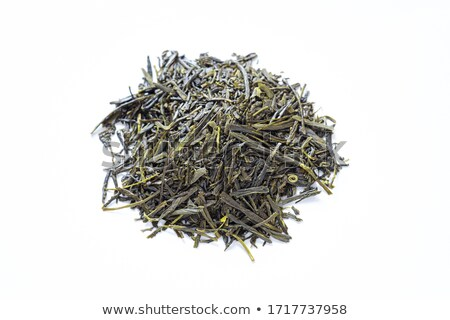 copo · fresco · chá · verde · vapor · manhã · tabela - foto stock © sahua