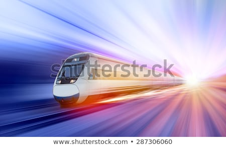 metro · tren · movimiento · estación · negocios · ciudad - foto stock © paha_l