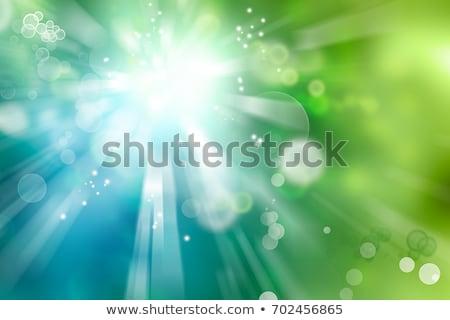 résumé · blanche · cercle · bleu · vert · affaires - photo stock © meikis