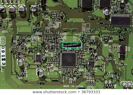 Firewire and USB PCI board Stock photo © gant