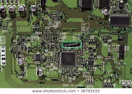 Usb ボード 先頭 表示 現代 コンピュータ ストックフォト © gant