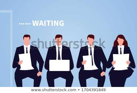 businessman waiting Stock photo © goryhater