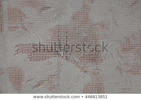 Hoog gedetailleerd fragment stenen muur papier textuur Stockfoto © H2O