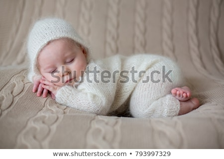 sleeping baby in winter clothes Stock photo © Paha_L