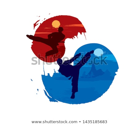 taekwondo Stock photo © abdulsatarid