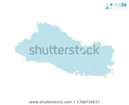 körvonal · vonalak · vektor · térkép · háttér · föld - stock fotó © freesoulproduction