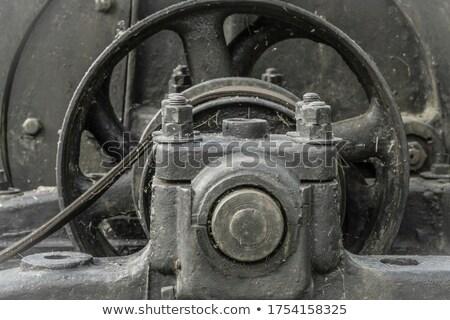 ржавые · машина · старые · гнилой · очистительный · завод · станция - Сток-фото © prill
