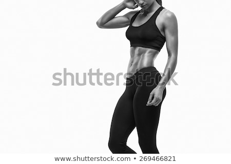 strong biceps on a white background Stock photo © ozaiachin