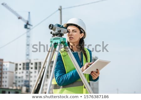 surveyor working Stock photo © photography33