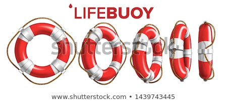 Lifeguard float. Stock photo © oscarcwilliams