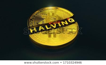 Halve it. Stock photo © lithian