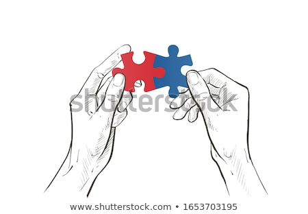 Business couple working on common problem Stock photo © photography33