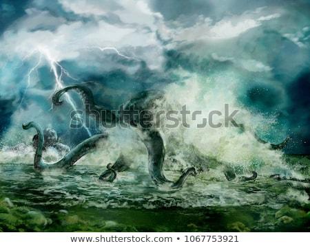 Stock photo: Monster Squid