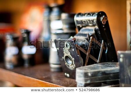 retro · herleving · oude · zilver · frame · fotolijstje - stockfoto © artush