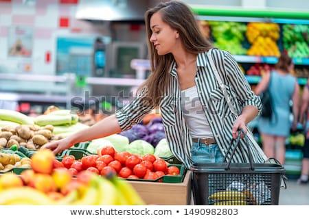 salame · nobre · comida · pimenta · fresco - foto stock © m-studio