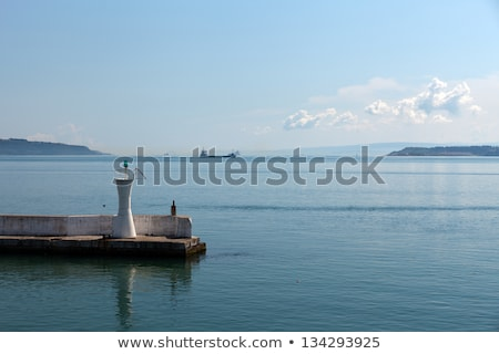 The crossing through the strait of Dardanelles from Asia to Europe Stock photo © wjarek