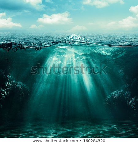 Abyss. Abstract underwater backgrounds Stock photo © tolokonov