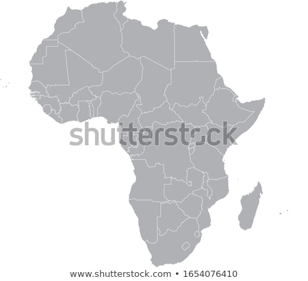 Africa map with Cape Verde Stock photo © Ustofre9