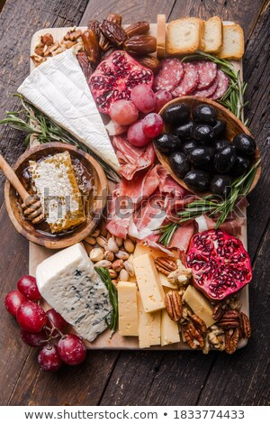 plate of delicatessen Stock photo © M-studio