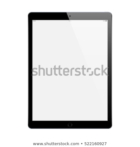 Black modern tablet Stock photo © karandaev