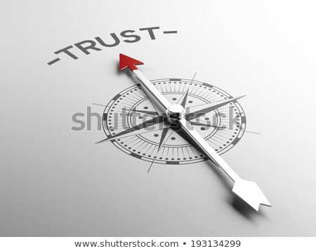honesty concept on golden compass stock photo © tashatuvango