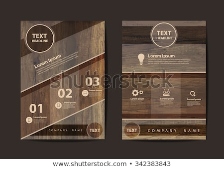 digital marketing concept retro label design stock photo © tashatuvango