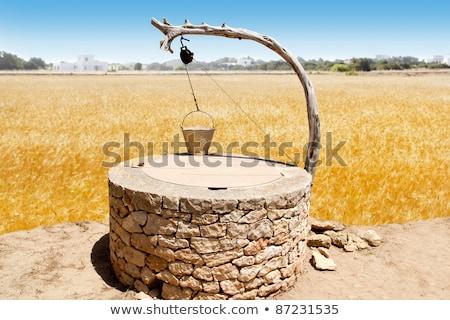 Mediterranean Draw-Well Stock photo © zhekos