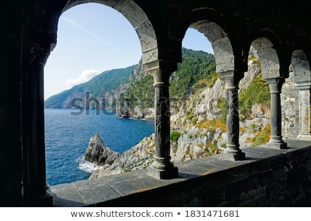 Church of San Pietro Portovenere Stock photo © smuki