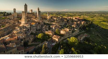 View to Montepulciano Stock photo © w20er