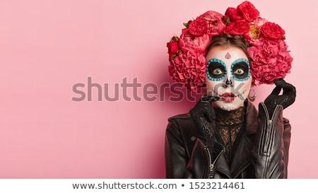 Zombie headshot Stock photo © lindwa