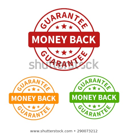 money back green vector icon button stock photo © rizwanali3d