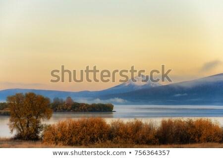 klamath lake mt mcgloughlin stock photo © cboswell