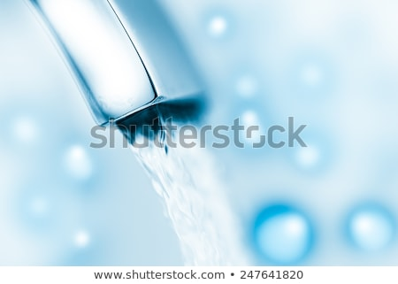 Chrome tap close up Stock photo © ozaiachin