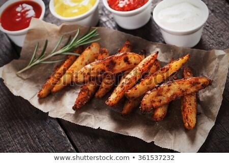 aardappel · tomaten · vers · bieslook - stockfoto © Moradoheath