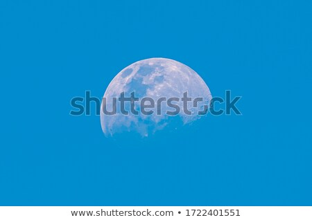 Full Moon in daylight sky Stock photo © master1305