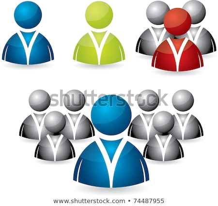 Kantoorwerk Rood vector knop icon ontwerp Stockfoto © rizwanali3d