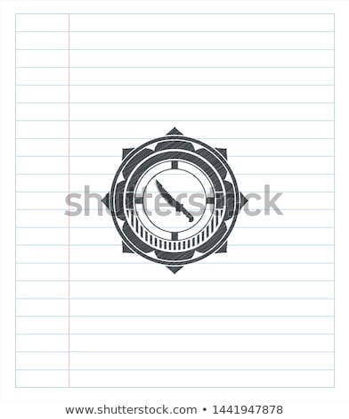vadász · harc · kéz · kés · izolált · fehér - stock fotó © shutswis