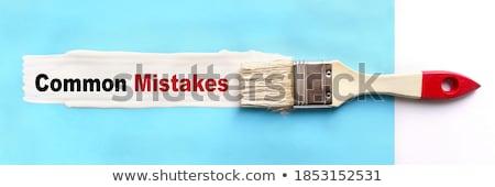 adózás · szó · festett · ecset · háttér · művészet - stock fotó © fuzzbones0