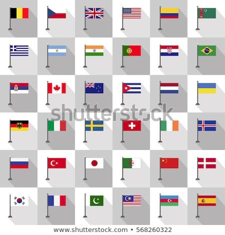 Германия Пакистан флагами головоломки изолированный белый Сток-фото © Istanbul2009