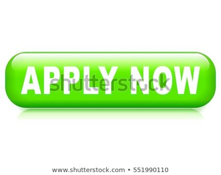 Apply Now Green Vector Icon Design Stock photo © rizwanali3d