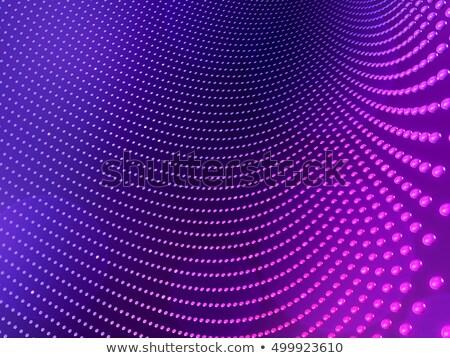 3D · сфере · частицы · неоновых - Сток-фото © maximmmmum
