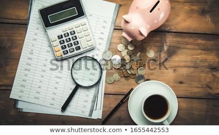 income tax stock photo © kenishirotie