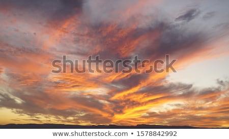 Bella cielo dinamica nubi abstract luce Foto d'archivio © zurijeta