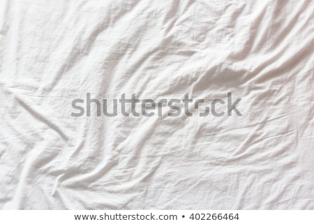 Bed sheets after sleep, top view texture Stock photo © stevanovicigor